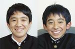 梅田中生が撮影したお互いの写真