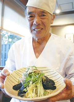 「疲れに効く美味しいそばを味わって」と古田島さん