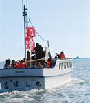 絶好の航行日和に試乗会が行われた