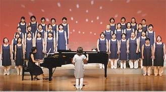 コンサートを行った女声合唱団コーラスクルー