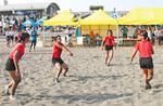 西浜で慣れ親しんだ砂の感触をプレーに活かす