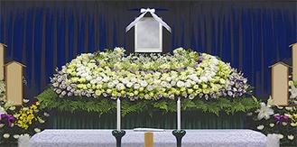 通夜・葬儀で故人の為に飾られたお花はお棺の中に収められた故人と共に荼毘に付される