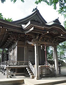江戸後期の面影が残る建築様式