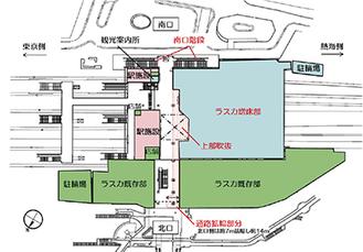 新店の配置図