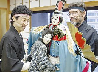 桐竹さん(左)とマルセルさん(右)/撮影:宮内晃