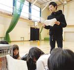 演技指導を行う茅ヶ崎在住の俳優の原田さん