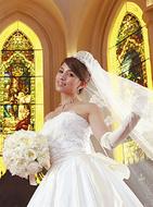 憧れの大聖堂で地元婚