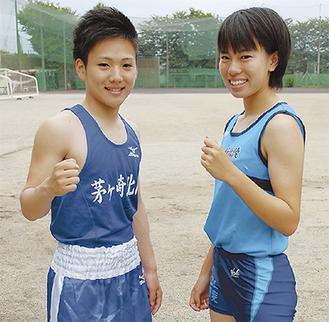 中村さん(右)、森さん(左)