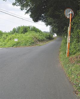 谷戸の北側外周を巡る「根通り」