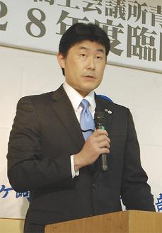 2017年度の会長に選任された川又康範さん