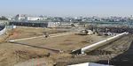 整備中の(仮称)柳島スポーツ公園