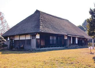 大型民家の特徴を備える旧和田家