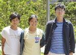 宇田川櫂さん(左)寧々さん(中央)湯浅さん(右)