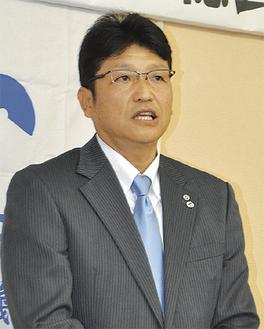 2018年度の会長に選任された須藤伸さん