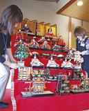松籟庵で雛人形展示