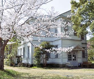 登録有形文化財に登録された旧南湖院第一病舎