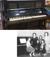 70年前のピアノ修復へ