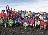 夏の富士山に登ろう