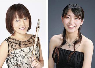 青木さん(左)、片倉さん