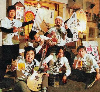 長山さん(後列右端)とオリンポス16闘神のメンバー
