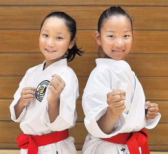 全国へ挑む林さん(左)と中村さん