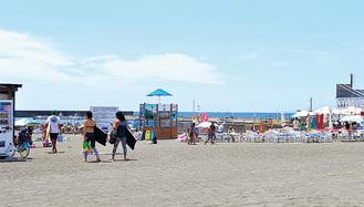 会場のサザンビーチ