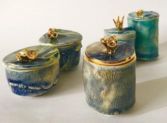 山口さんの陶芸作品