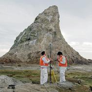 えぼし岩「高さは14.615m」