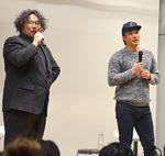 村瀬さん(左)と登壇