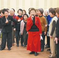 加藤登紀子さんが合唱指導