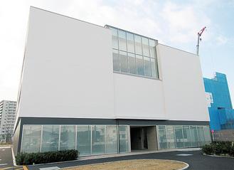 新たに完成した地域医療センター