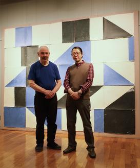 ゴーマンさん(左)と月本さん