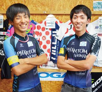 兄の佐々木遼さん(左)と弟の海さん