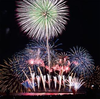 3万5000人が来場した昨年の芸術花火
