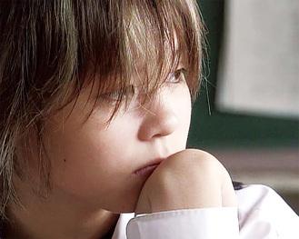 映画のチラシにも使われた15歳の小林さん