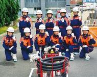女性消防隊 初の全国へ