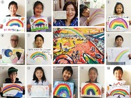 虹でつながる「茅ヶ崎の輪」