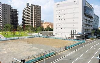 ホテルなどの複合施設の建設予定地