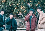 主人公4人がたむろする劇中のワンシーン=三澤監督提供