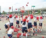 小・中学校で運動会実施