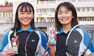 淵野さん(左)と淺田さん