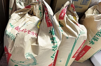 佐渡の米と他銘柄のブレンド米