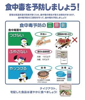 神奈川県が配布しているチラシ