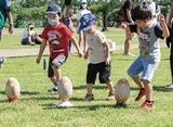 ラグビー体験会を開催