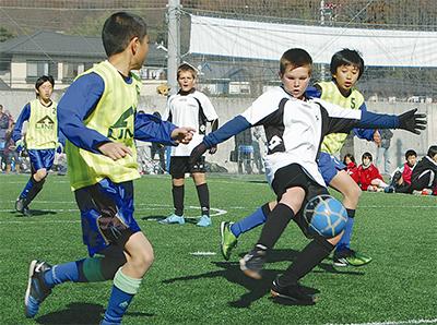 フットボールで国際交流