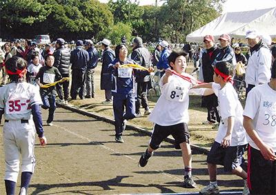 少年らが健脚競う駅伝・マラソン大会