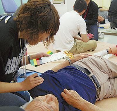 災害医療の技術向上を