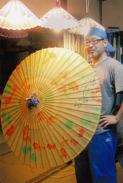 日本の心、和傘に込めて
