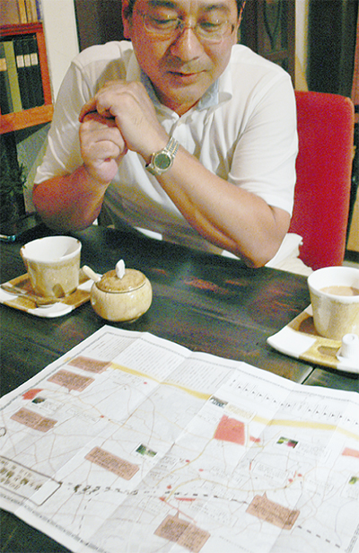 『茅ヶ崎と芸能』マップに集約