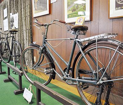 歴史紐解く「貞奴と自転車」